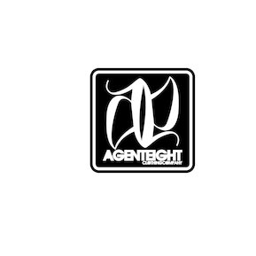 Agenteight Clothing Company Logo