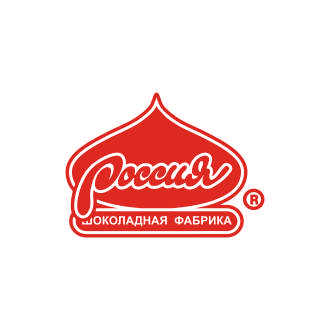Russia chocolate factory Logo